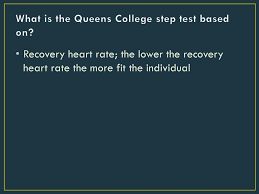 Fitness Assessments Cardiorespiratory Fitness Muscular