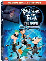 phineas and ferb the across the 2nd dimension releasing as a disney 2 disc dvd set august 23 2016