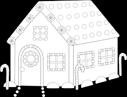 gingerbread house coloring sheet gingerbread house coloring page capricus me
