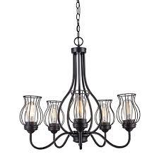 trans globe lighting congress oil rubbed bronze five light chandelier