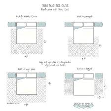 rug size under king bed good area rug size chart and rug sizes chart decoration area