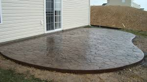 photo stamped concrete vs pavers images pros and cons of