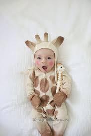 diy sophie the giraffe baby costume