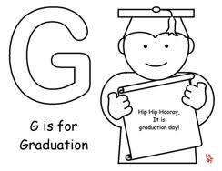 Kindergarten Graduation Coloring Pages Graduation Bingo Marker Pages B
