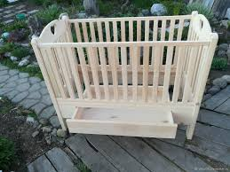 baby cot from solid cedar a healthy baby joinery in altai