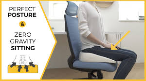 perfect posture chair. Experience Weightless Sitting With The Most Ergonomic Cushion EVER. Reduce Fatigue, Release Stress \u0026 Perfect Posture Chair