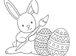 Free Printable Coloring Easter Eggs Eggs Printable Coloring Pages