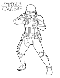 Star Wars Stormtrooper Coloring Page Free Coloring Pages Online