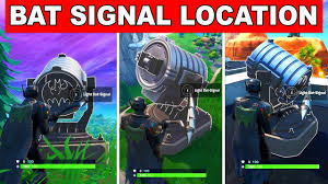 Light Up Bat Signal Fortnite Light Up Different Bat Signals Outside Of Gotham City All Locations Welcome To Gotham City Fortnite