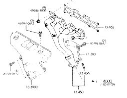 nb] pic request oem nb exhaust manifold (4 2 1 style) mx 5 1990 miata exhaust diagram at Miata Exhaust Diagram