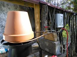 homemade inline propane hot water heater