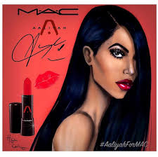 caign for mac cosmetics aaliyah collection