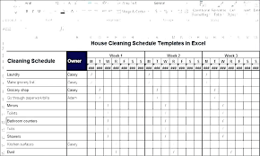 Business Plan Schedule Template