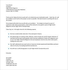 A Sample Of A Proposal 38 Sample Business Proposal Letters Pdf Doc
