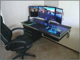 computer gaming desk.  Computer Computer Desks  Gaming Desk Ideas Pc Desktop Maxnomic  On