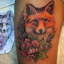 татуировка лиса значение эскизы фото и видео Infotattoo
