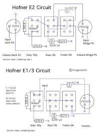 hofner standard e schematic diagram return to fact files hofner guitar wiring diagrams
