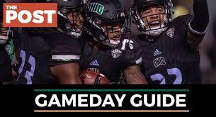 Football Ohio Vs Buffalo Gameday Guide The Post