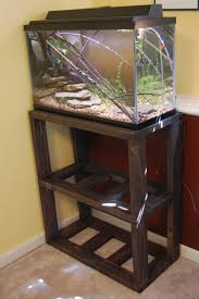 an affordable functional and attractive do it yourself aquarium stand
