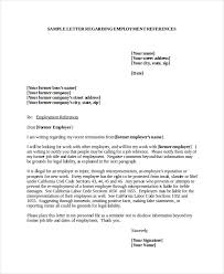 Employment Letter Of Recommendation Template Fascinating Job Recommendation Letter Template
