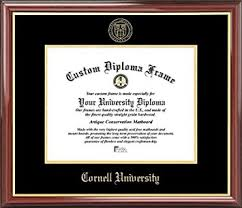 com cornell university big red embossed seal mahogany  cornell university big red embossed seal mahogany gold trim diploma frame