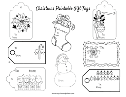 Gift Tag Coloring Page Free Christmas Gift Tags To Color Cultured Palate
