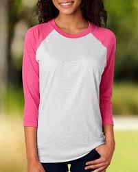 Next Level Raglan Shirt Size Chart Next Level 6051 Unisex Triblend 3 4 Sleeve Raglan Tee Size