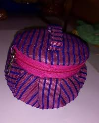 Dch <b>Pink And Blue Combination</b> Handmade Zip Jewelry Box, Rs 50 ...