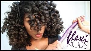 Flexible Curling Rods How To Use Flexi Rods On Natural Hair