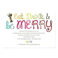 Free Party Invitation Wording Awesome Holiday Examples Artwrk Pro