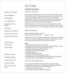 Sales Officer Resume Executive Resume Format Best Resume Objective