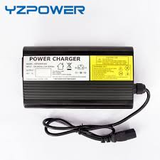 42v 11a li ion battery charger charger 10s 36v lipo battery auto stop smart tools