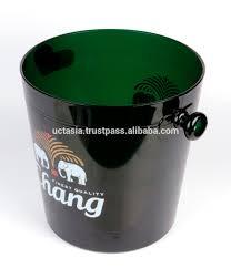 modern ice bucket in plastic  buy hotel ice buckets product on