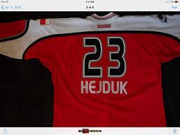 Image result for hejduk all star jersey