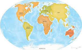 High Quality World Map True Map Of Thw World Continents In Map High Resolution