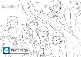 Distributed by crafting the word of god. Free Printable Zacchaeus Coloring Pages For Kids Connectus