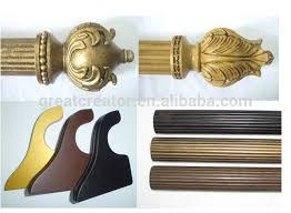decorative wood curtain rods photo of goodly white wood curtain rods finials images