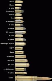 Vintage Outdoors Complete List Of All Calibers Of Ammo Ever
