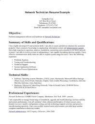 Resume Template Tech Resume Examples Diacoblog Com
