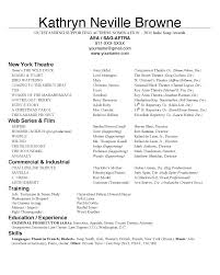 Actor Resume Abigail Hardin Designs Actor Resumes 99