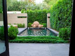 Small Picture Small Garden Design With Minimalist Pond 4 Home Ideas