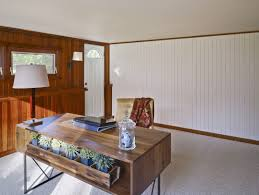 office wood paneling. Office Wood Paneling. Alluring Table Lamp On Classic Desk Paired With Golden Chairs In Home Paneling
