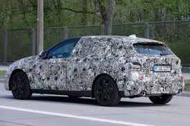 2018 bmw 1 series. modren series 2019 bmw 1 series spy shot rear quarter with 2018 bmw series m