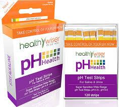 Buy Ph Test Strips 120ct Bonus Alkaline Food Chart Pdf