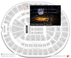 Amway Center Concert Seating Chart Interactive Map