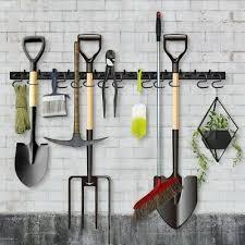 garden tool storage hooks
