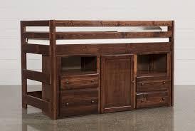 loft storage bed. sedona junior loft storage bed - 360