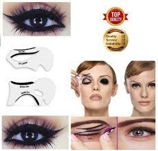 2 pcs eye makeup cat tool shadow template line shaper eyes eyeshadow guide smoky ebay