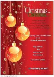 Holiday Templates For Word Free Free Christmas Invitation Templates Word Diy Do It Yourself Holiday