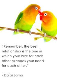 Love Birds With Quotes